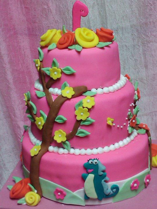 Dora the Explorer Birthday Cake SunniMonks Blog